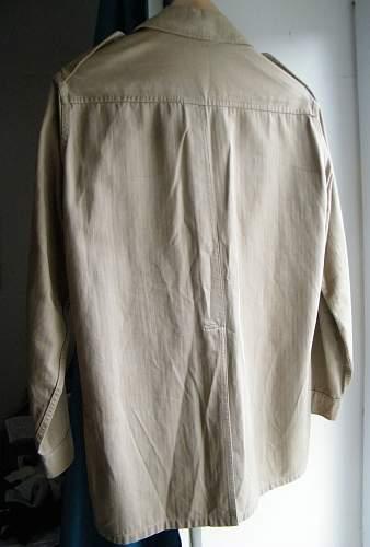 US war aid KD bush shirt/jacket