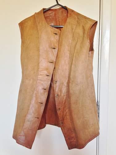 WW2 Britiish Leather Jerkin Help!!
