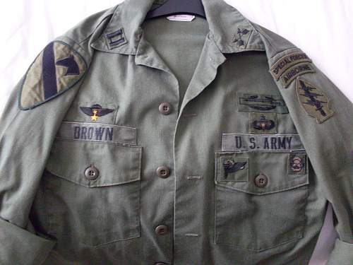 1980's US SPECIAL FORCES SHIRT