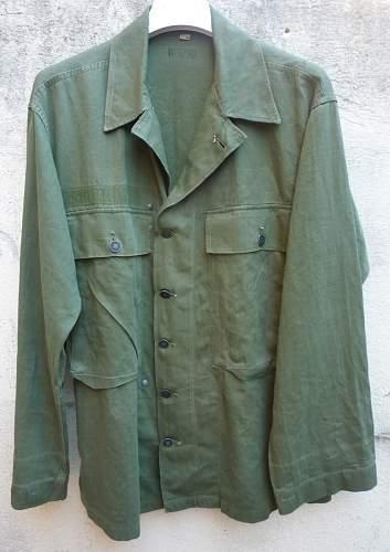 HBT jacket, war or post war?