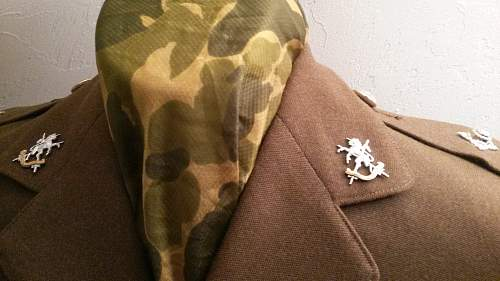 Queens own lowland yeomanry 58 dated uniform