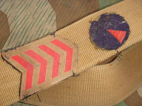 German Tropical Belt with British Divisional Sign