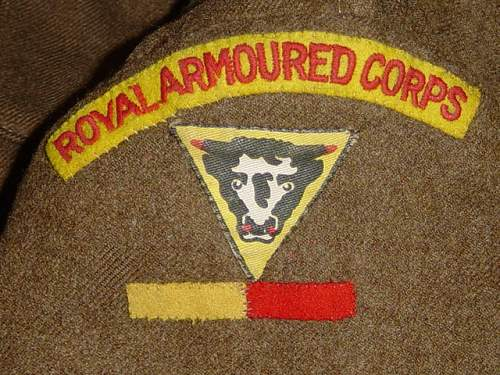 British Royal Armoured Corps BD Blouse