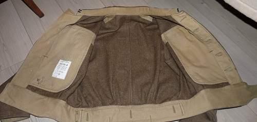 Strange  Battle Dress pattern 40?