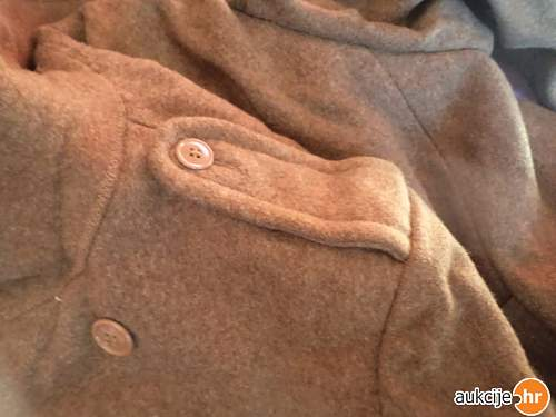 US War Aid British Greatcoat