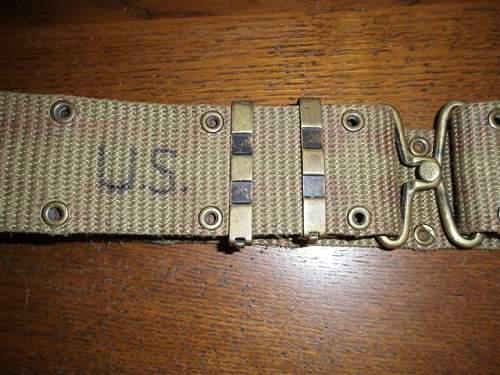US Belt - pre or post ww2  ?