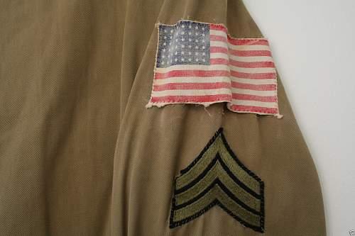 US M42 Paratrooper jump jacket original??