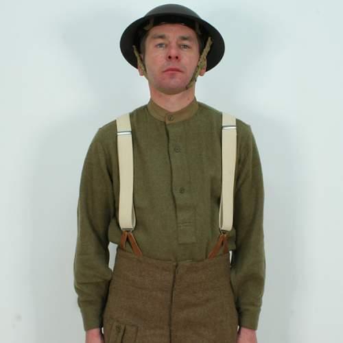 Canadian tank crew uniform