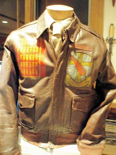 US 95TH Bomb Group A-2 Flying Jacket