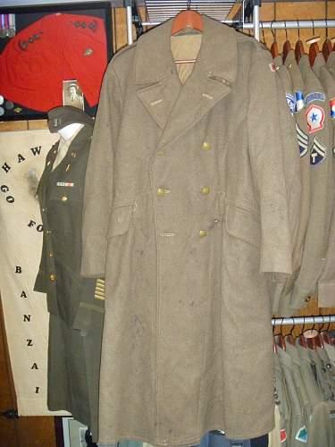Australian 2/28th btn POW great coat.