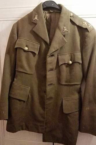 British SD Tunic