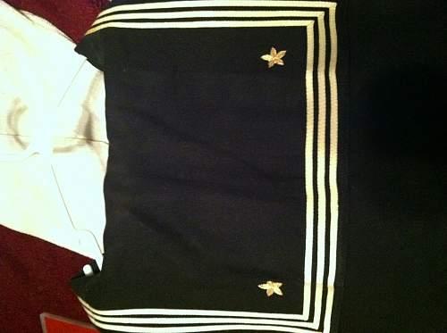 Ww2 navy uniform?
