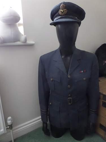 Interesting RAF Uniform Otto Walter Neumark Finnish winter War Volunteer