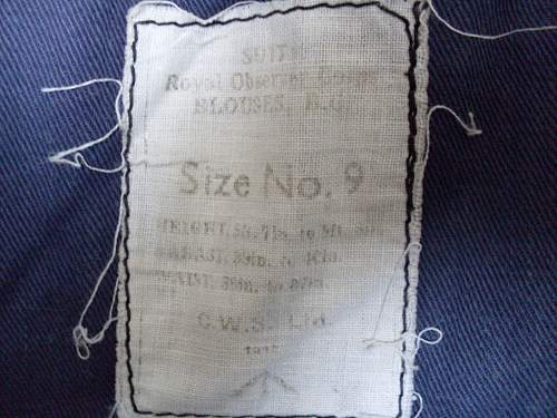 ROC Battledress 1942