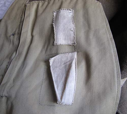 "War Aid US made Battle Dress blouse, 5th US Army, Royal Italian ""cobelligerant"" Army"