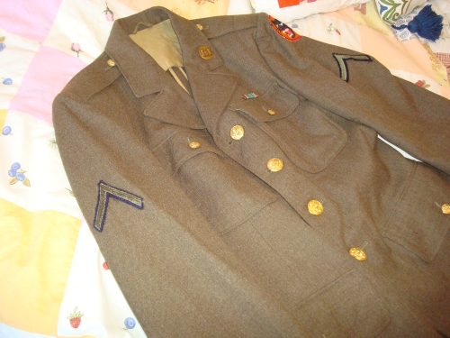 US 66th division service dress