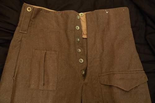 Commonwealth Battledress Trousers