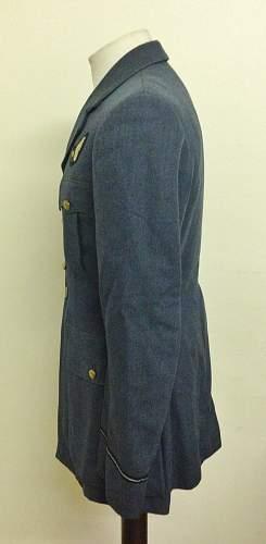 RAF Service Dress Jacket Owner D-Day Provenance