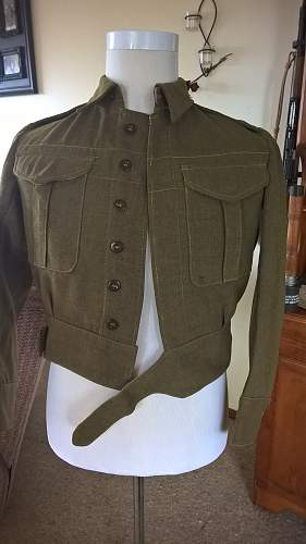 Can anyone help with identification of Battle Dress Blouse