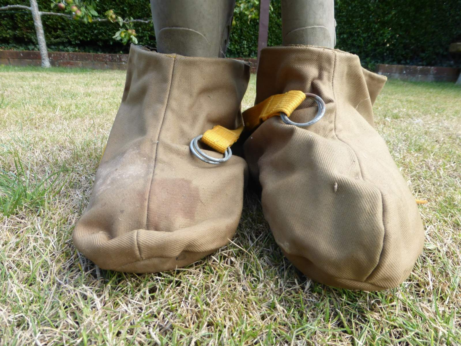 WW2 British waterproof over shoes/boots