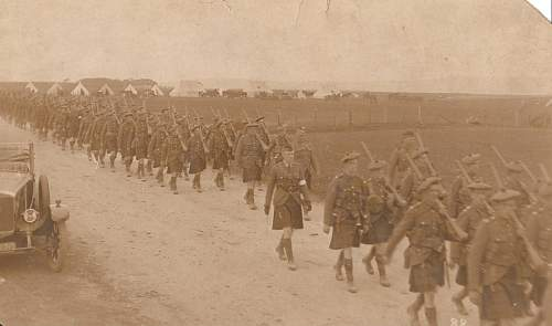 Gordon Highlanders WW1 to early 1920s