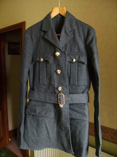 1950s RAF senior aircraft mans uniform