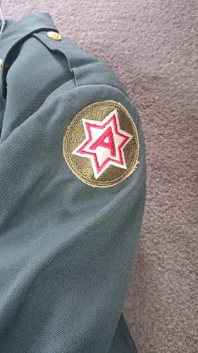Post War 1950`s US tunic and pants