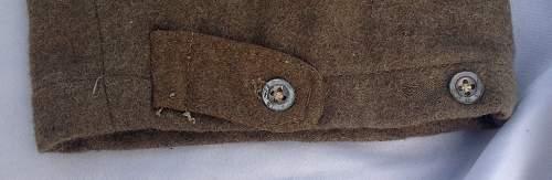 Indian Made Battledress Trousers