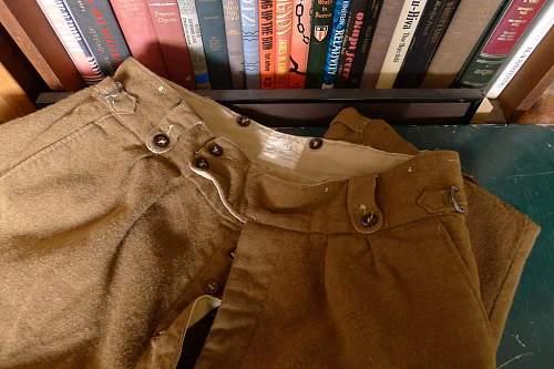 Neat Wool Pants, Australian ?