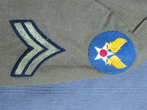 Dress Uniform part 2 of flea market find lot
