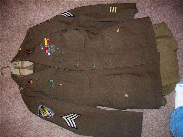 Nd airborne class a uniform
