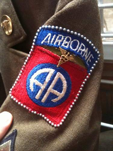 HELP! Trouble IDing US 82nd Airborne Uniform