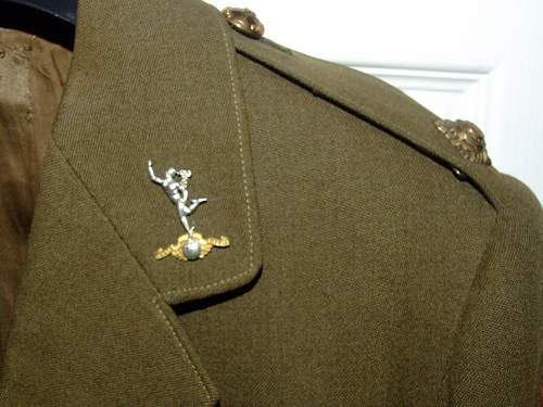 Interesting officers uniform