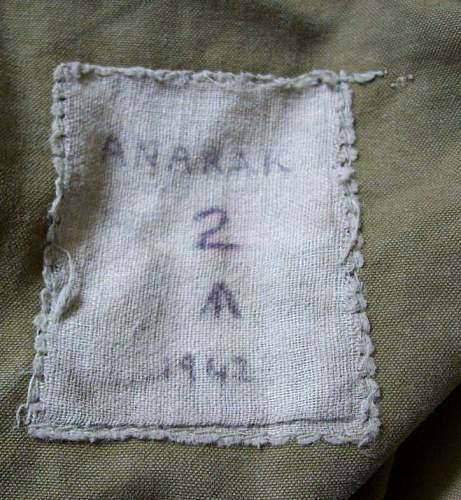 British Anorak (Anarak?) WWII?