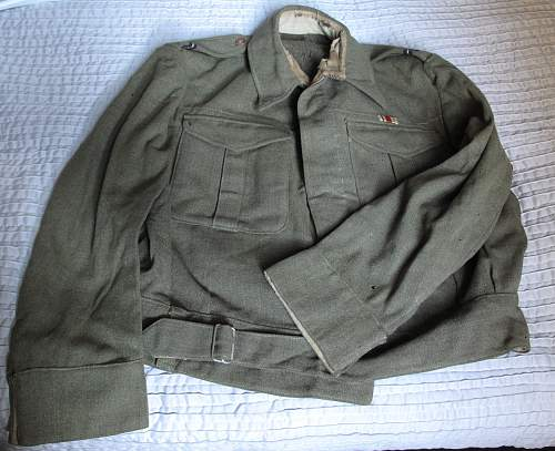 RAF related 1941 dated NZ Battle Dress Blouse