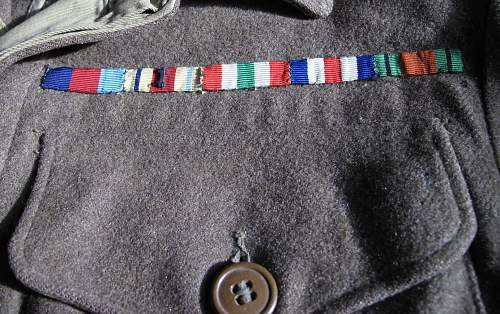 WA Battle Dress blouse, badged to 5th Division R.A.M.C. Lance Corporal