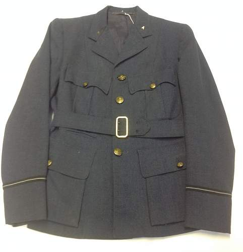 Click image for larger version.  Name:WAAF Officers Service Dress jacket.2.jpg Views:27 Size:193.6 KB ID:901957
