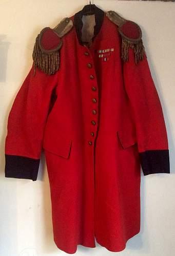 British army red coat
