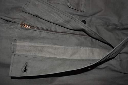 USN Rain parka and trouser
