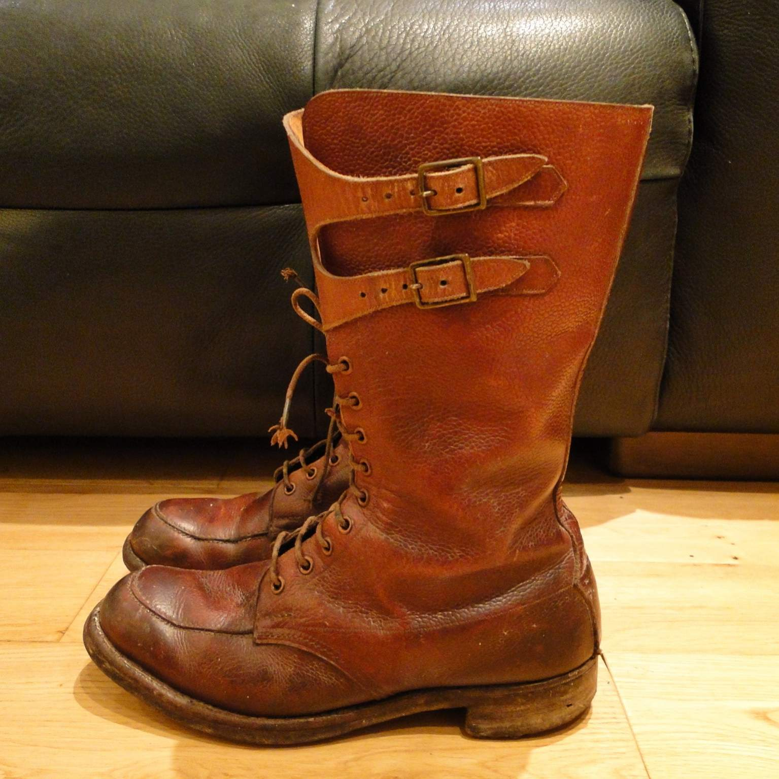 Wwii Double Buckle Boots D Information Required Ww British Army Field Combat