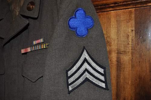 """Ike 88th Infantry Div.  """"Blue Devil"""""""