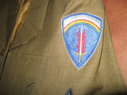 Can anyone identify this ike jacket division patch?