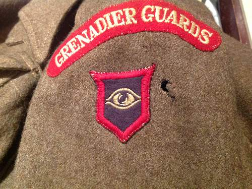Help / info on Grenadier Guards Armoured 1940 pattern blouse