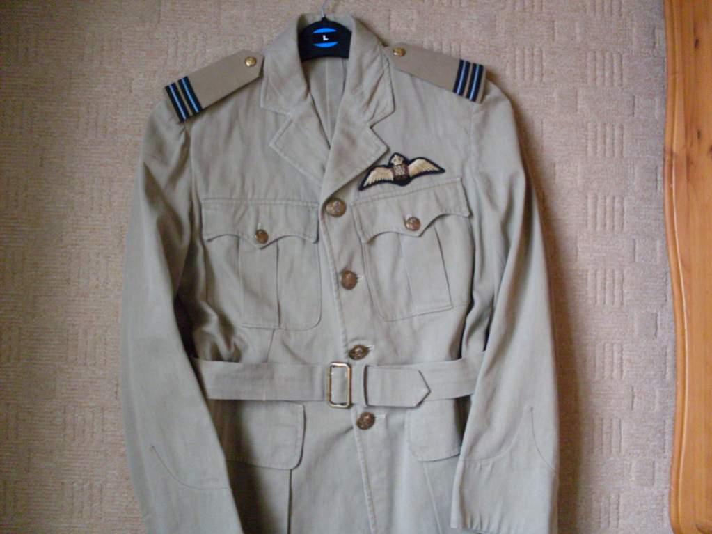 WWII RAF Tropical Tunic (Indian made??) | Sõja ajaloo portaal