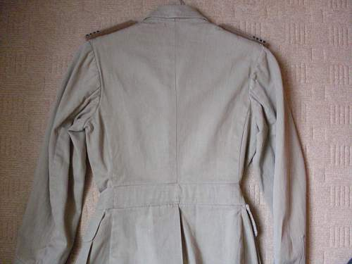 WWII RAF Tropical Tunic (Indian made??)