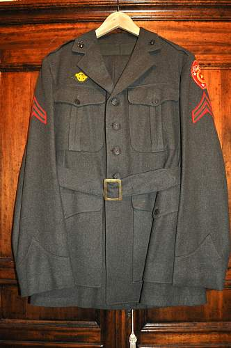 "USMC ""Green Forest"" uniform"