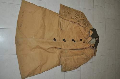 British Army Tropal Coat (1941)