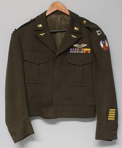 US Army Air Force - 9th AF Captain Ike Jacket for Opinions