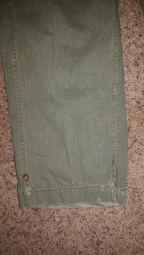 Coveralls 2nd US Infantry Division: Authentic?