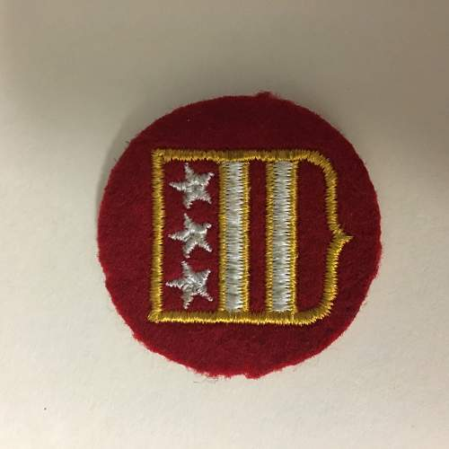 any ideas on what this patch represents?